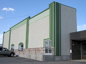 Exterior photograph of the Deleta Skating & Family Fun Center in Pocatello, Idaho