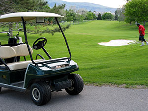 Exterior photograph of the Highland Golf Course in Pocatello, Idaho