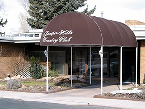 Exterior photograph of the Juniper Hills Country Club in Pocatello, Idaho