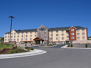 Photograph of the Marriott TownePlace Suites