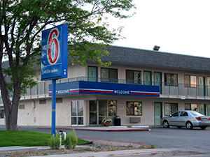 Photograph of the Motel 6