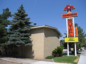 Photograph of the Thunderbird Motel