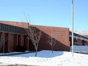 Jefferson Elementary School in Pocatello, Idaho